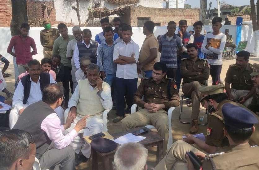 सहारनपुर के शब्बीरपुर में नहीं निकाली गई शोभायात्रा, कई थानों की फोर्स रही तैनात