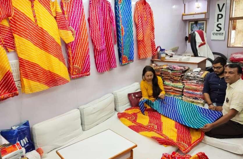 SURAT KAPDA MANDI: सूरत कपड़ा मंडी में अब जोड़े में भी परिधान