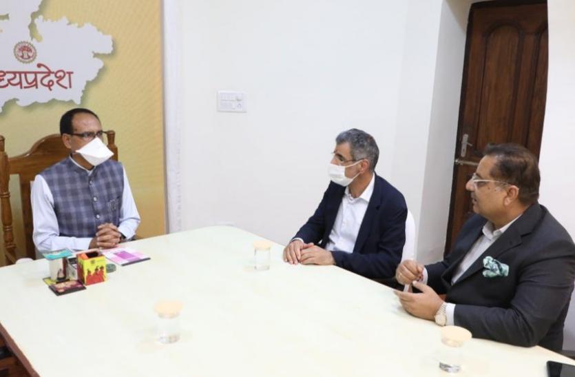 मुख्यमंत्री से मिले सउदी अरब के उद्योगपति, सीएम ने कहा- खाद्य प्रसंस्करण इकाईयों की स्थापना पर फोकस