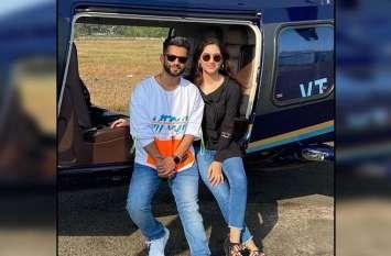 गर्लफ्रेंड दिशा परमार के साथ Rahul Vaidya निकले वेकेशन पर, प्राइवेट हेलीकॉप्टर से गए मुंबई से दूर