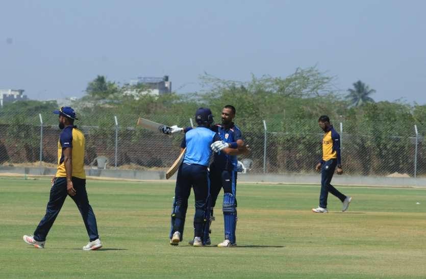 Vijay Hazare Trophy : पंड्या के नाबाद शतक से बडौदा ने 13 रन से छत्तीसगढ़ को हराया