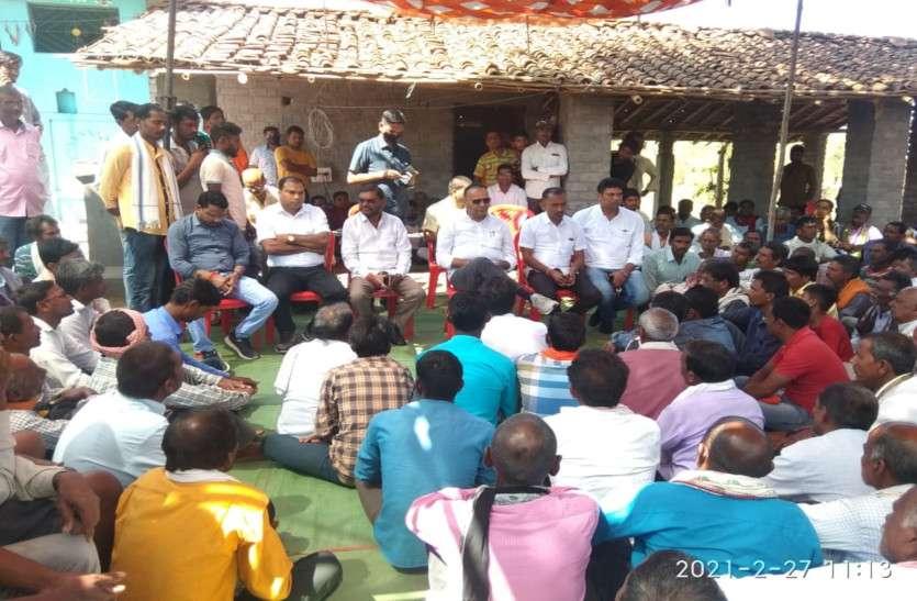 रेत खदान बंद कराने ग्रामीणों के प्रदर्शन को पूर्व मंत्री अजय चंद्राकर का समर्थन, कही ये बात