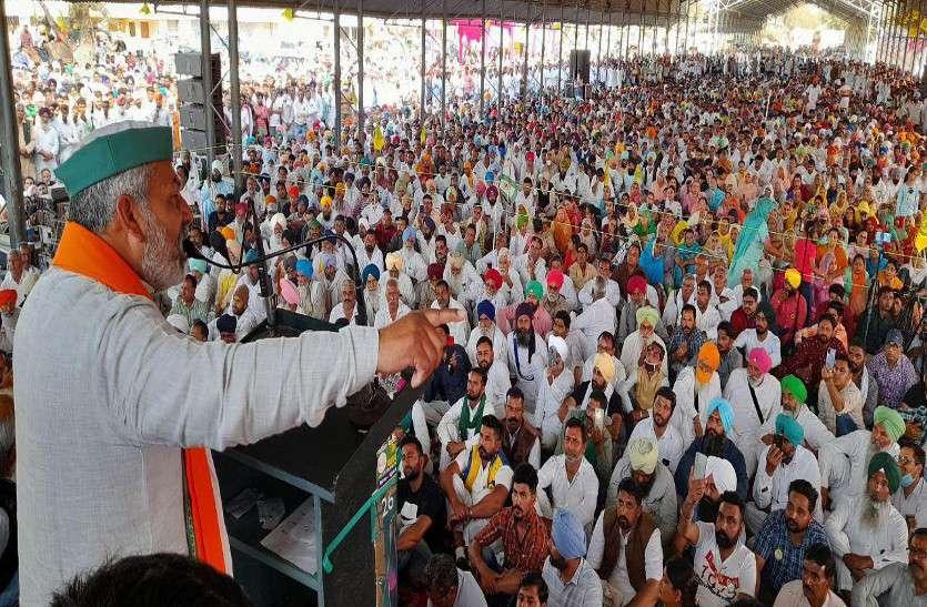 'किसान 40 लाख टै्रक्टर-ट्रॉली लेकर दिल्ली घेरेंगे'