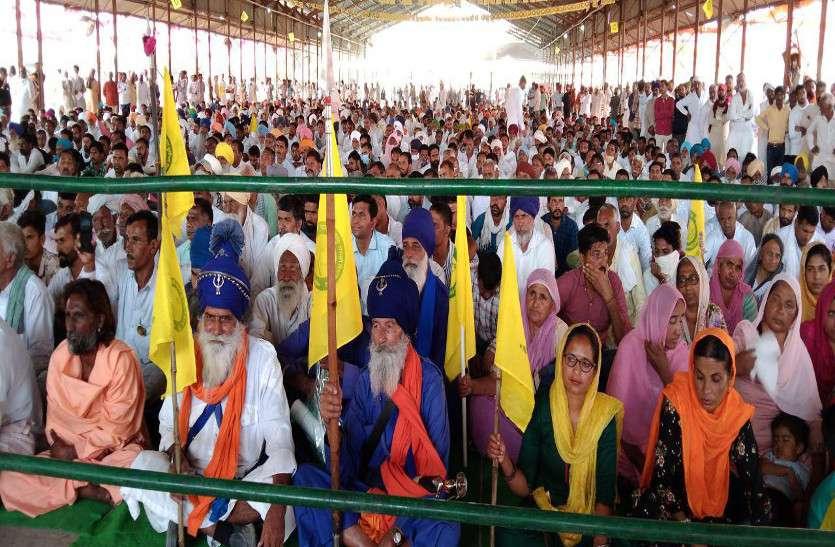 किसान आंदोलन वैचारिक क्रांति,बंदूक से नहीं होगा समाप्त