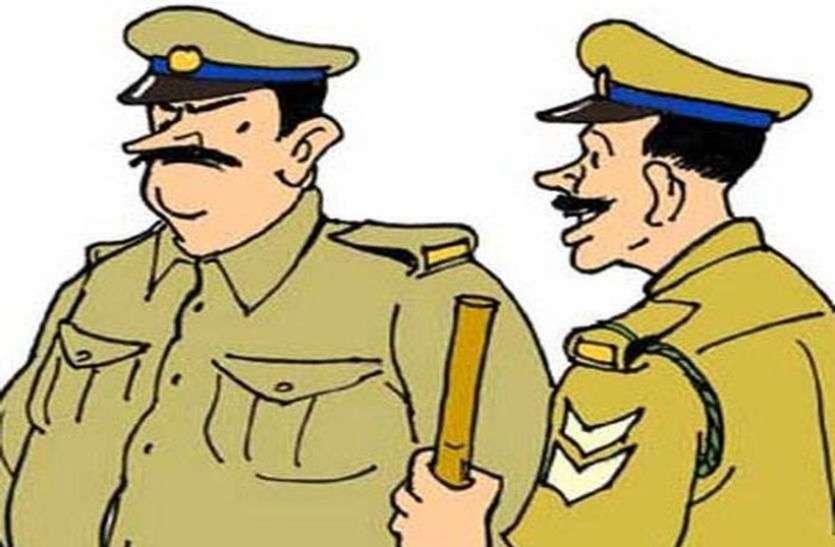 कोरोना कालः पुलिस... कम से कम आप तो ऐसा नहीं करें....सामने आया पुलिस का अमानवीय चेहरा...।