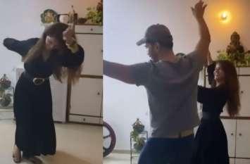 बिग बॉस 14 की विनर Rubina Dilaik ने एक बार फिर किया पहाड़ी डांस, अभिनव शुक्ला ने भी किया जॉइन