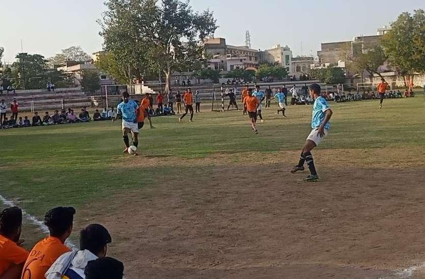 रोचक रही खिताबी टक्कर, दौसा व जयपुर संयुक्त विजेता घोषित