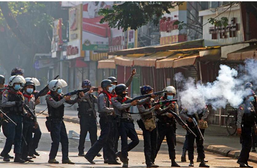 भारत ने म्यांमार में लोकतंत्र समर्थकों की मौत पर जताई गहरी संवेदना, बातचीत से हो समस्या का समाधान
