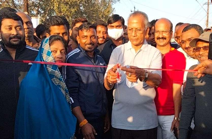 रिसाली निगम में संडे सैर सपाटा में पहुंचे गृहमंत्री, छत्तीसगढ़ी खेल और संस्कृति की दिखी अनोखी झलक
