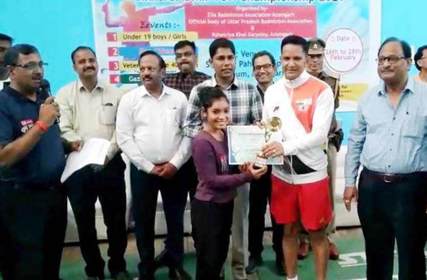 महिला एकल में माया व पुरुष एकल में सतेंद्र ने जीता खिताब