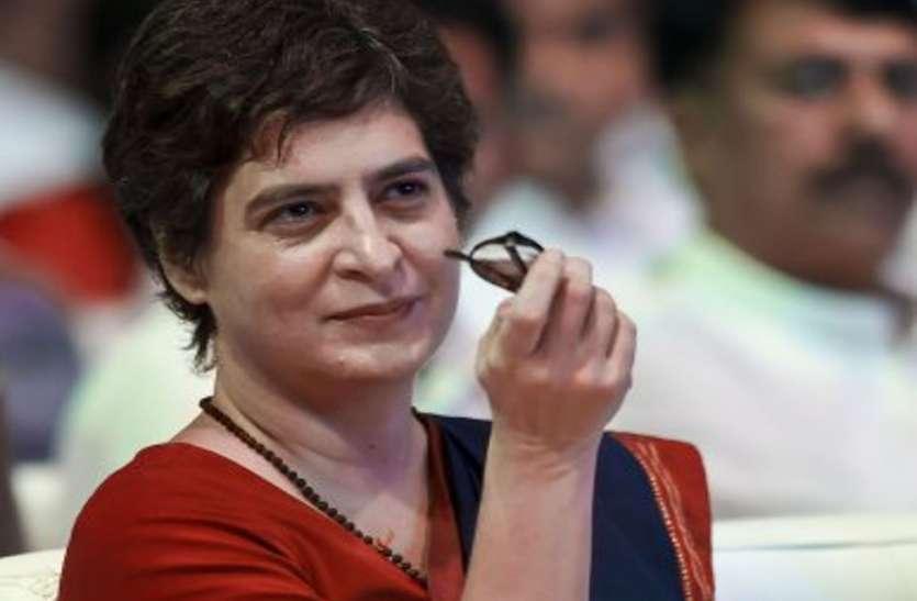 प्रियंका गांधी का भाजपा सरकार पर हमला, जब युवा जॉब की बात करते हैं तो हवालात भेज देती है सरकार