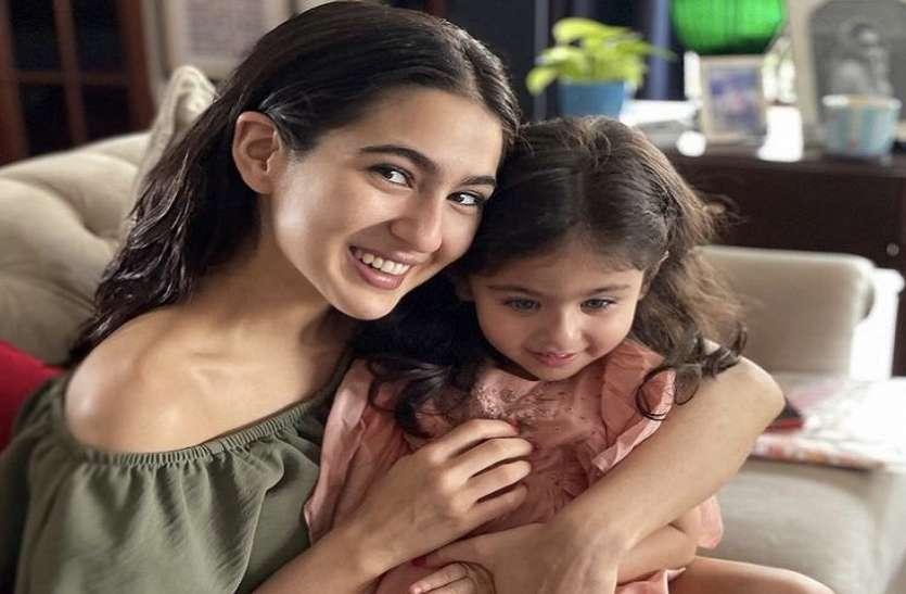Sara Ali Khan की बेबी इनाया के साथ तस्वीर हुई वायरल, बहनों के बीच दिखी जबरदस्त बॉन्डिंग