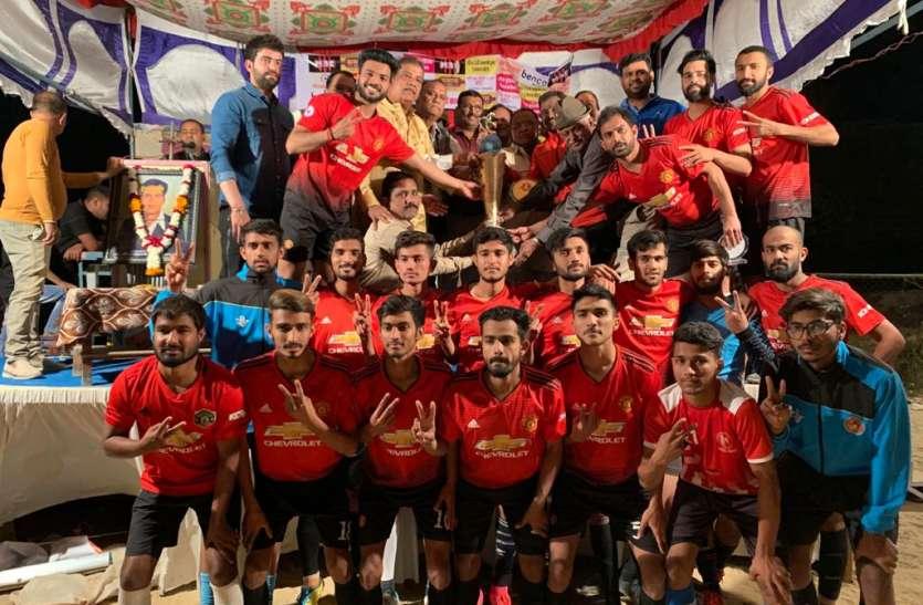 बच्ची गोल्ड कप पर मारवाड क्लब जोधपुर का कब्जा