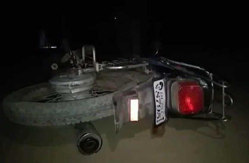 यूपी के मुजफ्फरनगर में पुलिस बदमाशों के बीच फायरिंग
