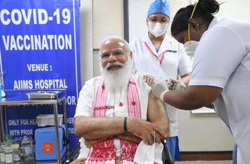 PM Modi के वैक्सीन लगवाने के बाद RJD विधायक का अजीब बयान, कह दी इतनी बड़ी बात