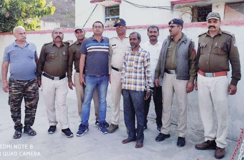 तीन थानेदार, सीएसपी, एसडीओपी व पुलिस अधिकारियों ने मिलकर एक हत्यारोपी को किया गिरफ्तार