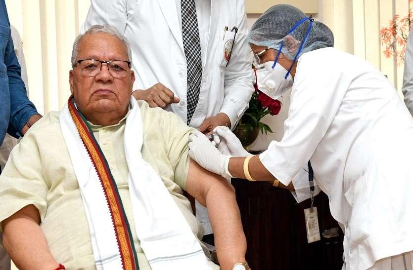 राज्यपाल Kalraj Mishra ने भी लगवाई Covid Vaccine की पहली डोज़, कहा- 'जल्द ख़त्म होगा कोरोना'