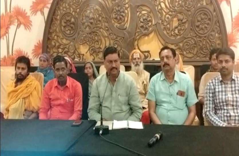 अयोध्या प्रशासन पर मंदिर तोड़ने का आरोप, महंत का आत्महत्या की चेतावनी