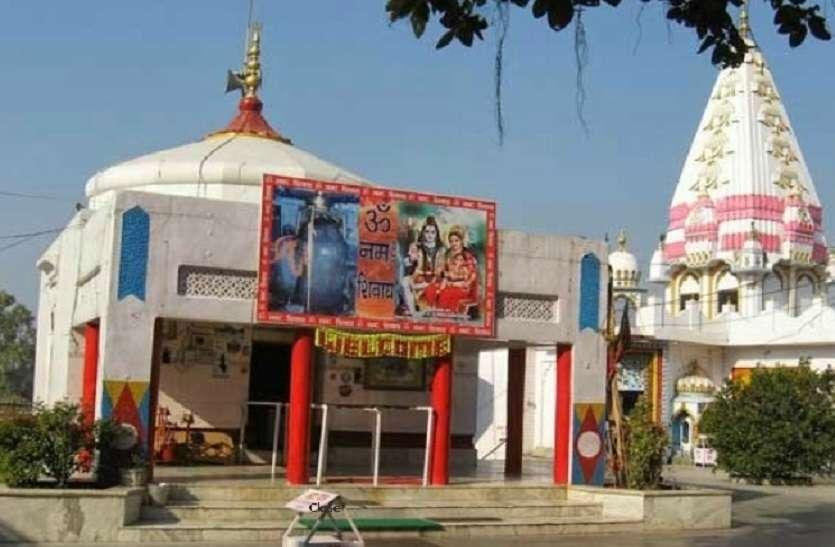 Ardhanarishvara Shivling where the union of Shiva and Maa Parvati
