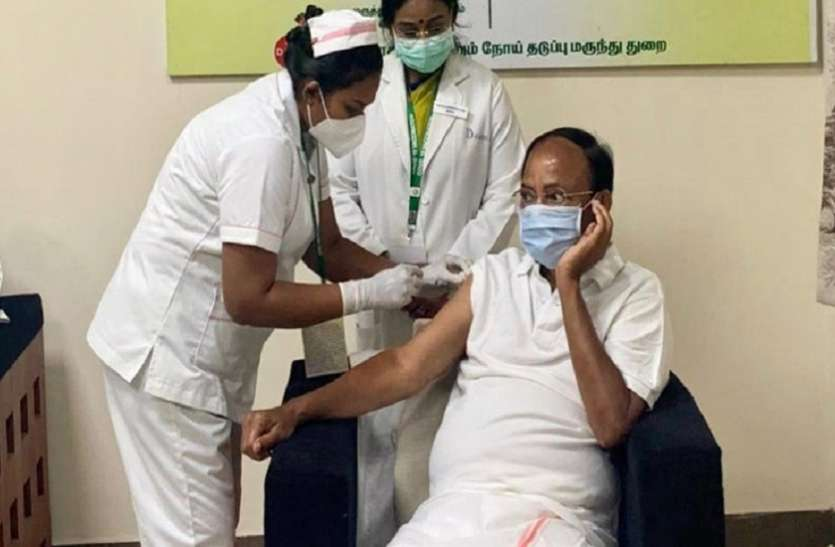 Corona Vaccination: पीएम मोदी के बाद उपराष्ट्रपति, नीतीश और पटनायक समेत कई दिग्गजों ने लगवाई वैक्सीन