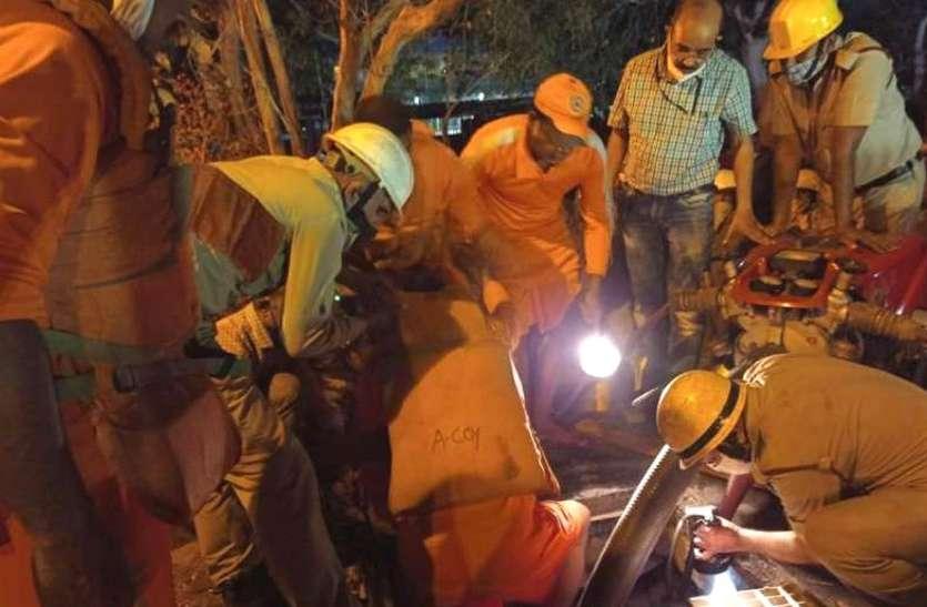 NSPCL प्लांट भिलाई में बड़ा हादसा, स्लैब टूटने से संप में गिरे असिस्टेंट मैनेजर की मौत, रातभर चला रेस्क्यू ऑपरेशन