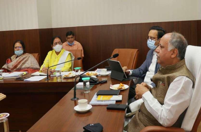 नगर विकास मंत्रीअशुतोष टंडनने की पेयजल व सीवरेज परियोजनाएं को लेकर बैठक