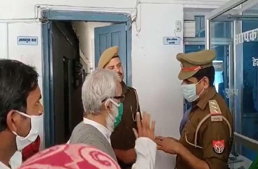 भूमाफिया उजाड़ रहे गरीबों की बस्ती, पुलिस पर कोई कार्रवाई न करने का आरोप