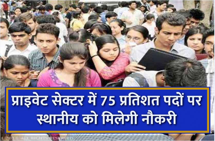 Haryana News: प्राइवेट सेक्टर में स्थानीय युवाओं को मिलेगा 75 प्रतिशत आरक्षण, विधेयक को राज्यपाल से मिली मंजूरी