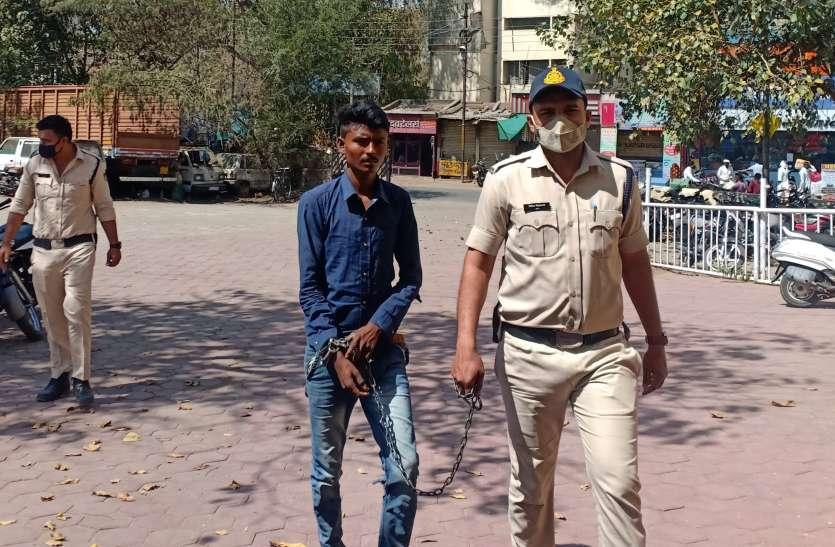 खेतों में रहकर मजदूरी कर रहा था फरार सजायाफ्ता कैदी, सिरपुर में दबिश देकर पुलिस ने पकड़ा