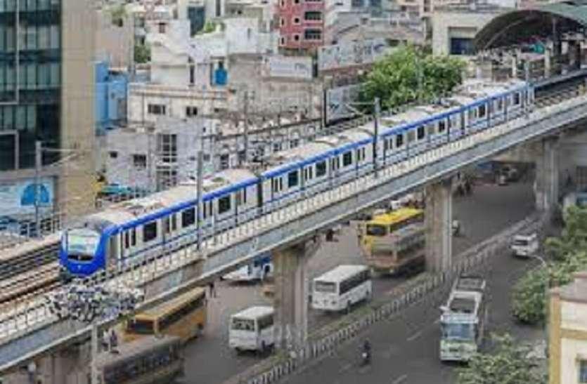 चेन्नई मेट्रो में 7 सितंबर से 28 फरवरी के बीच 65 लाख यात्रियों ने की यात्रा