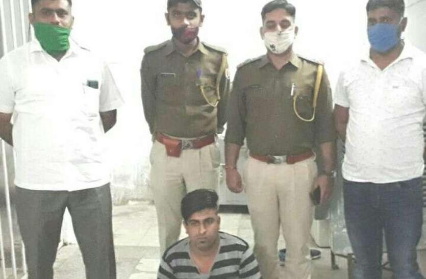 एसयूवी चढ़ाकर हमला करने का वांछित आरोपी गिरफ्तार