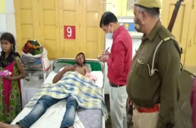 गवाही देने पर ग्राम प्रधान ने साथियों के साथ मिलकर गवाह को मारी गोली, दो गिरफ्तार