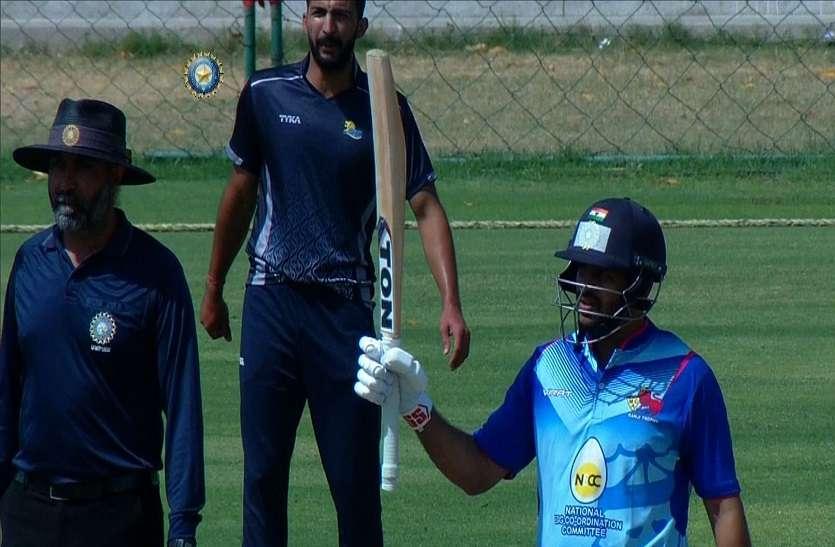 मुंबई ने 49 रन पर गंवाए चार विकेट, सूर्य कुमार, शार्दुल और आदित्य की पारियों से दर्ज की जीत