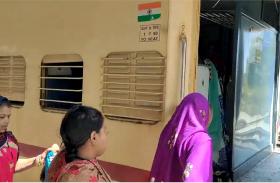 1 साल बाद आई नागदा-बीना ट्रेन, कोरोना काल में लगे लॉकडाउन से बंद था संचालन, देखें वीडियो