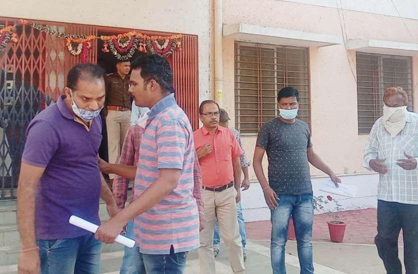 शासकीय राशन गेहूं की अफरा-तफरी के मामले में 4 लोगों को कलेक्टर ने भेजा जेल