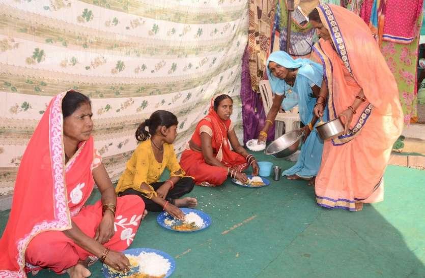 राजिम माघी पुन्नी मेले में खुले दाल-भात सेंटर