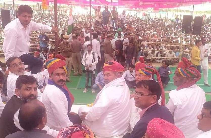 राजस्थान: किसान आंदोलन को 'धार' देने की मुहीम जारी, आज राकेश टिकैत संग पहुंचे चंद्रशेखर