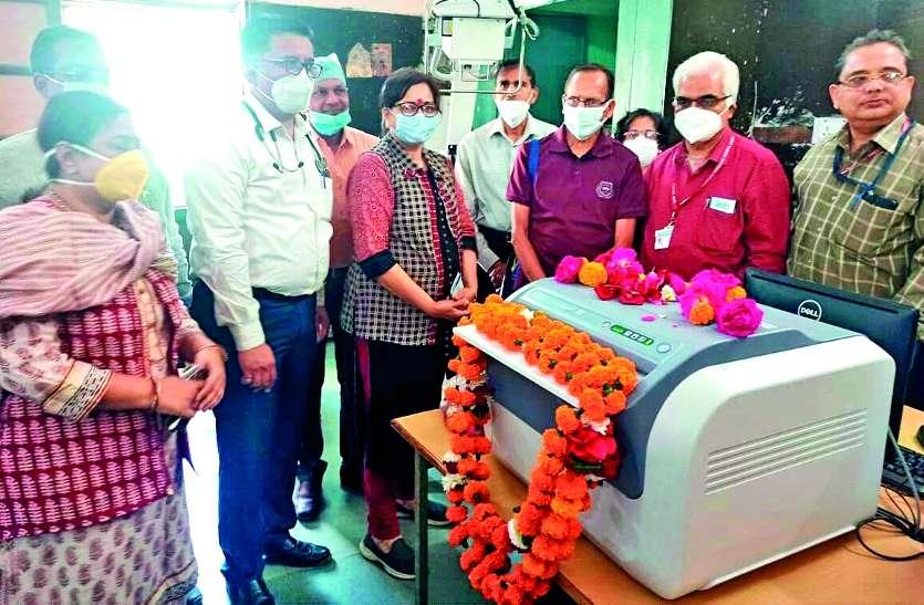 अस्पताल में आया सात लाख रुपए का प्रिंटर और प्रोसेसर