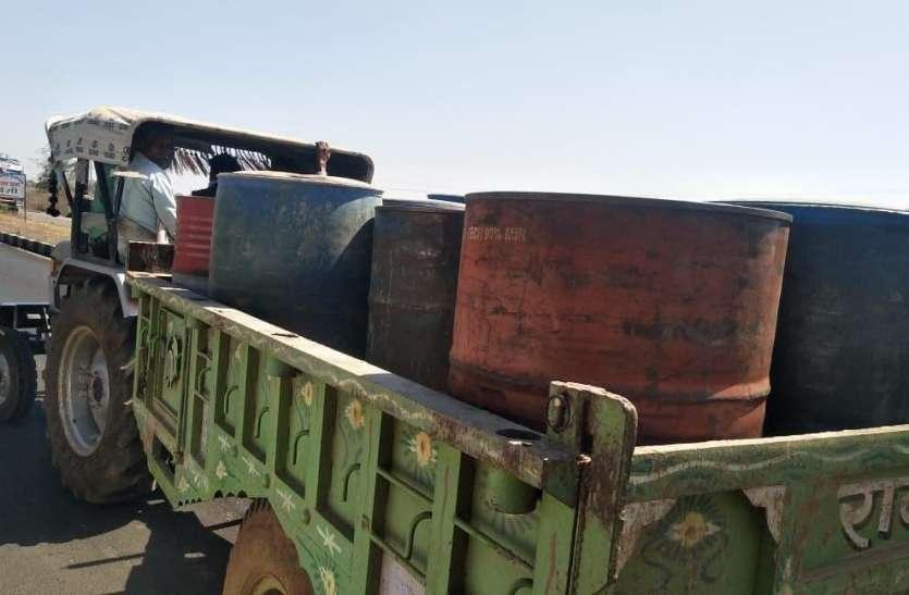 यूपी से सस्ता डीजल-पेट्रोल खरीदकर मध्यप्रदेश में कर रहे अवैध कारोबार