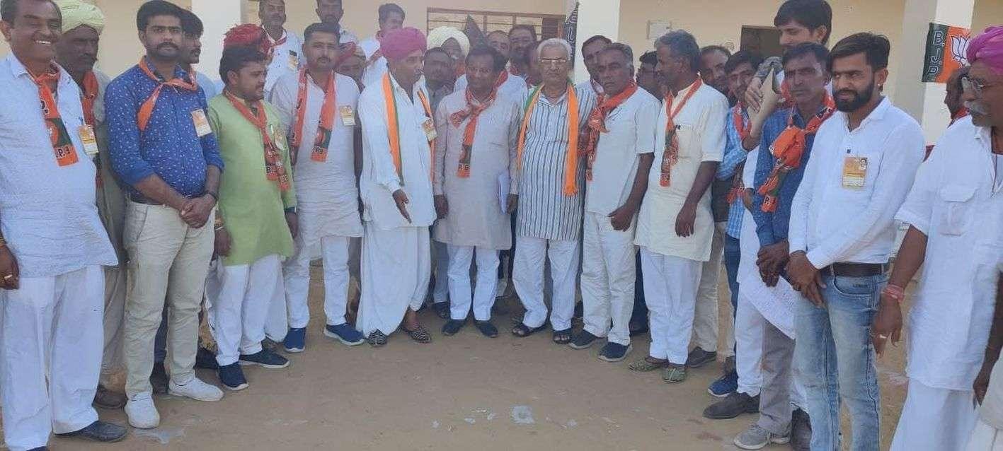 'कांग्रेस सरकार ने भाजपा की योजनाओं का सिर्फ नाम बदला'
