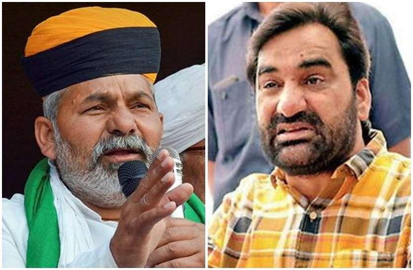 अब Rakesh Tikait और Hanuman Beniwal के बीच 'टकराव'! जानें क्यों गर्माया है मामला?