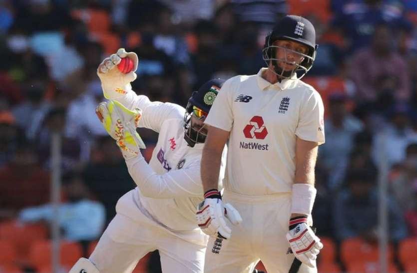 लगातार पांचवीं पारी में पूरे 90 ओवर नहीं खेल सका इंग्लैंड, 76 ओवर में 205 रन पर ढेर