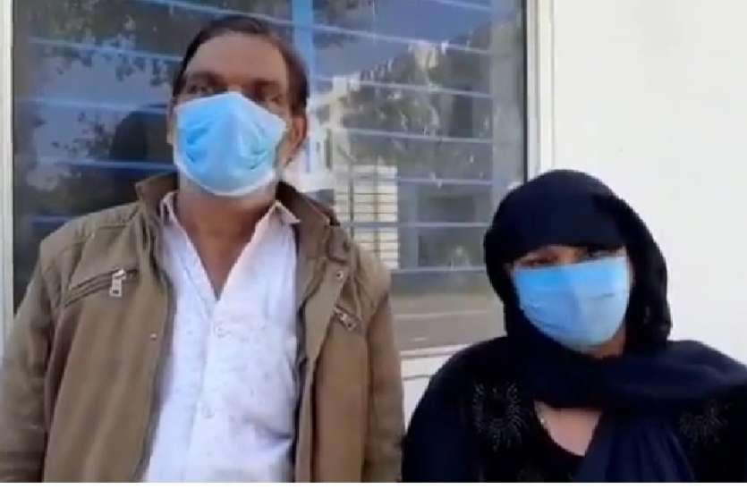 तीन दिन से लापता बेटी की तलाश में भटक रहा बीमार बाप