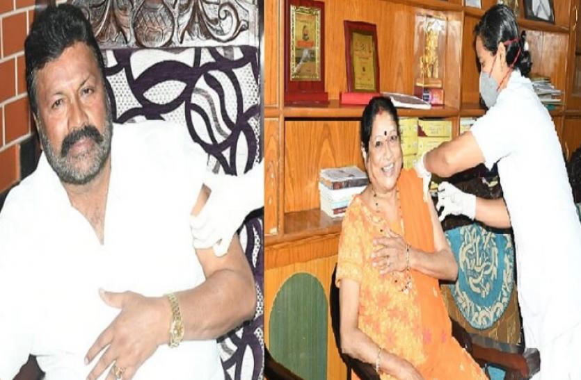 Karnataka : मंत्री और उनकी पत्नी को घर पर टीका लगाने के बाद फंसे स्वास्थ्य अधिकारी, केंद्र ने मांगी रिपोर्ट