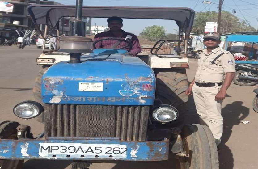 पुलिस ने भी संभाली बिना रॉयल्टी रेत की ट्रैक्टर-ट्रॉली जांच करने की जिम्मेदारी