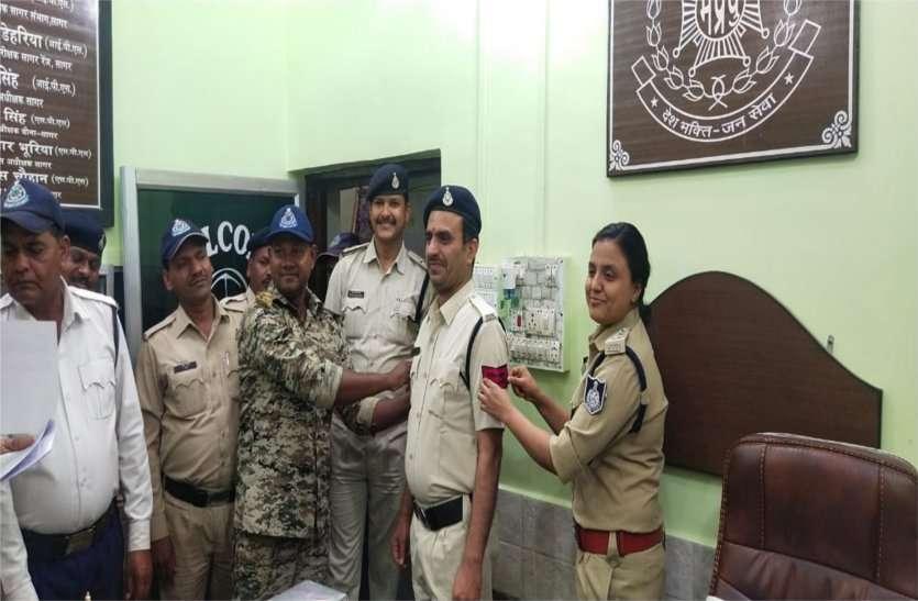 कार्यवाहक उच्चप्रभार का आदेश मिलते ही खिले पुलिसकर्मियों के चेहरे