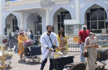 जोधपुर एयरपोर्ट पर 6 महीने में दुगुने हुए यात्री, अब 50 हजार कर रहे हवाई सफर