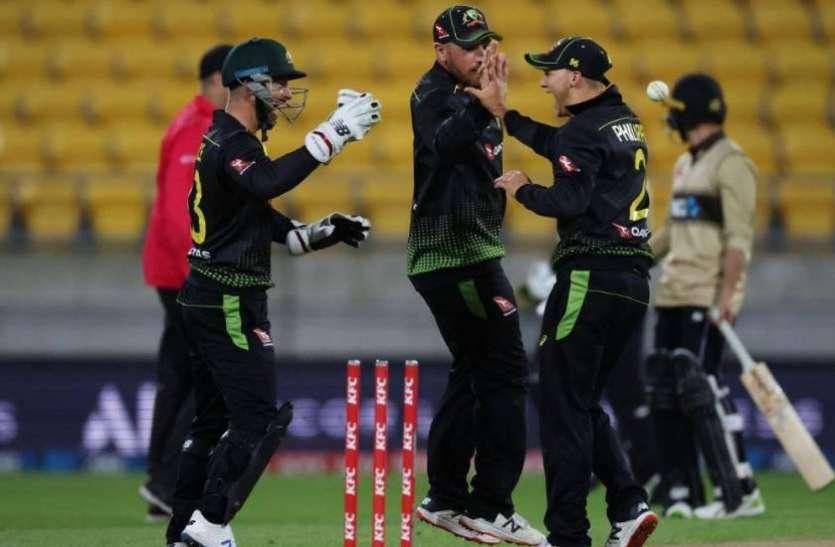 वेलिंगटन टी20 : फिंच और रिचर्डसन के दम पर जीता ऑस्ट्रेलिया