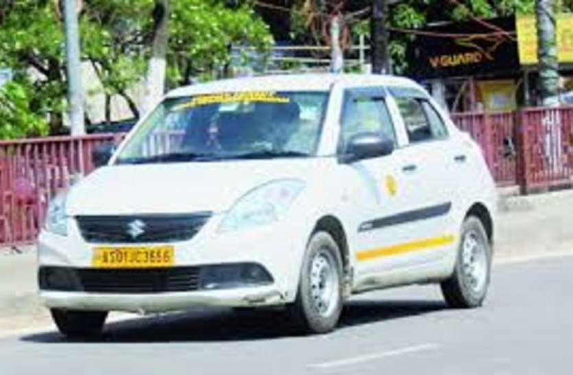 एप कैब चालक के साथ मारपीट व गाड़ी तोड़फोड़ की घटना
