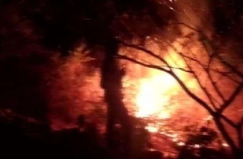 बेंगलूरु के इस झील में बार-बार लगती है आग